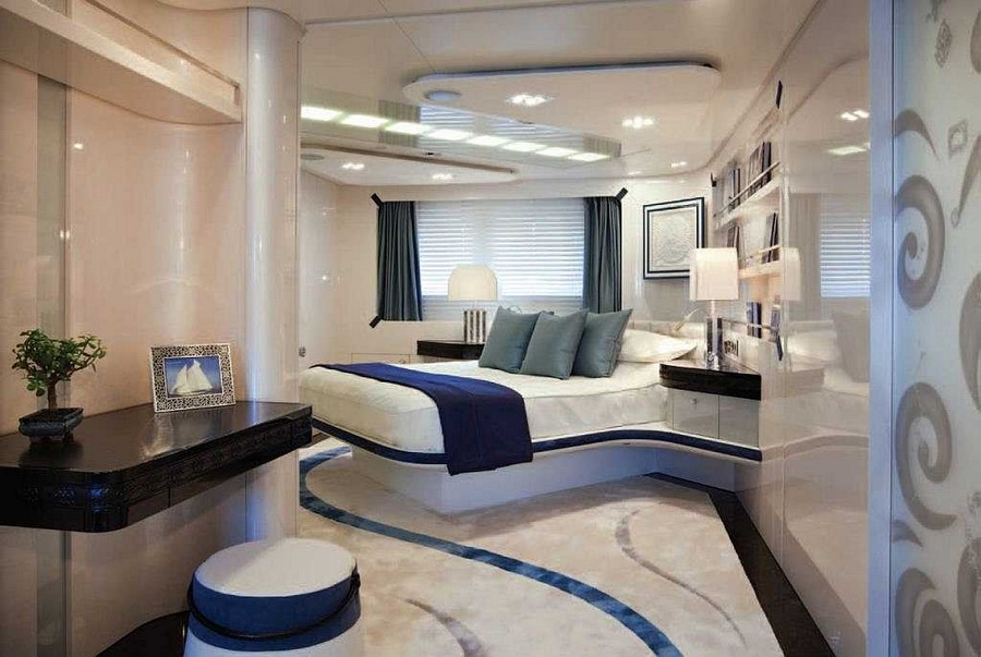 yacht interiors Top yacht designers: 5 luxury yacht interiors by Michela Reverberi Quinta Essentia