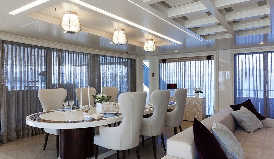 6 Amazing Dining tables used by Top interior Designers in yachts dining tables 6 Amazing Dining tables used by Top interior Designers in yachts QuintaEssentiaMichella
