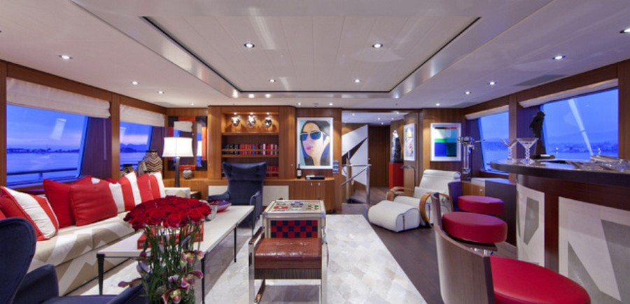 yacht interiors Top yacht designers: 5 luxury yacht interiors by Michela Reverberi REVELRY 2