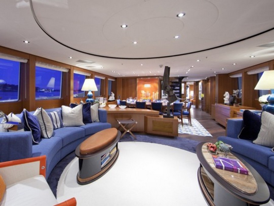 yacht interiors Top yacht designers: 5 luxury yacht interiors by Michela Reverberi Revelry3
