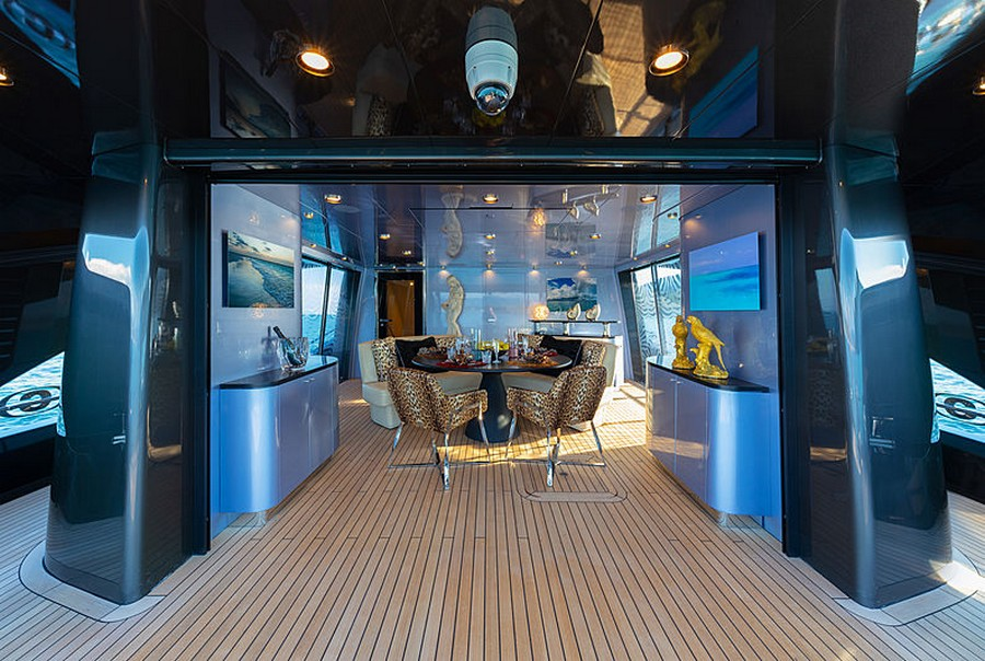 Let's have a peek inside Roberto Cavalli's 28m yacht Freedom Roberto Cavalli Let's have a peek inside Roberto Cavalli's 28m yacht Freedom RobertoCavalli2