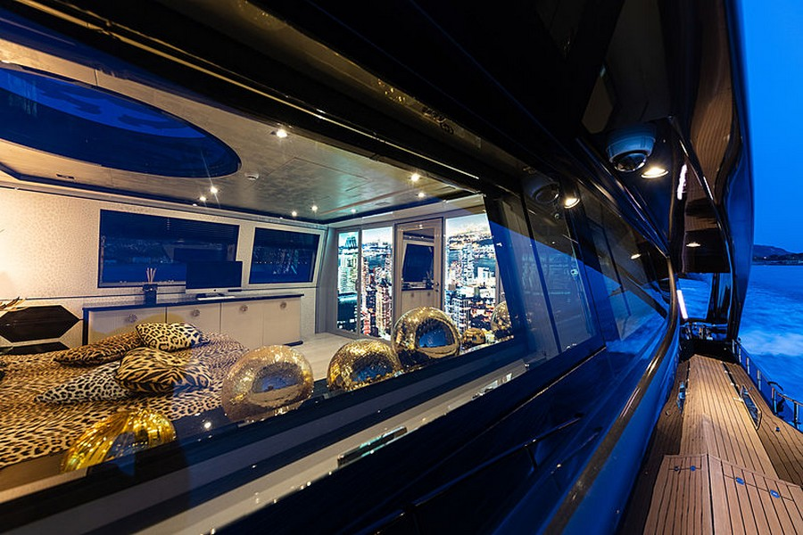 Let's have a peek inside Roberto Cavalli's 28m yacht Freedom Roberto Cavalli Let's have a peek inside Roberto Cavalli's 28m yacht Freedom RobertoCavalli6