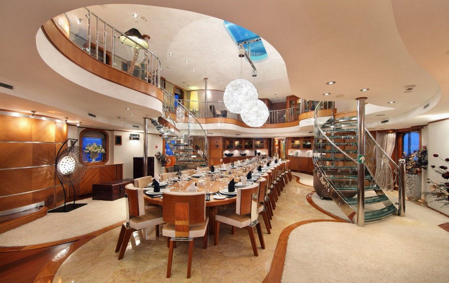 yacht interiors Have a look at 50 of the greatest yacht interiors – Part 3 Sherekhan3