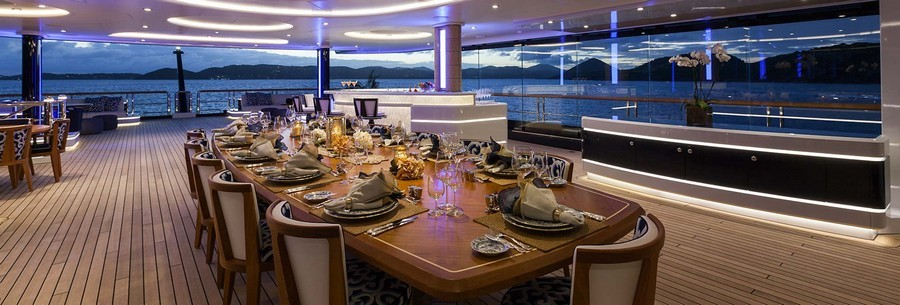 6 Amazing Dining tables used by Top interior Designers in yachts dining tables 6 Amazing Dining tables used by Top interior Designers in yachts SolandgebyRodriguezInteriorsDolkerVoges2
