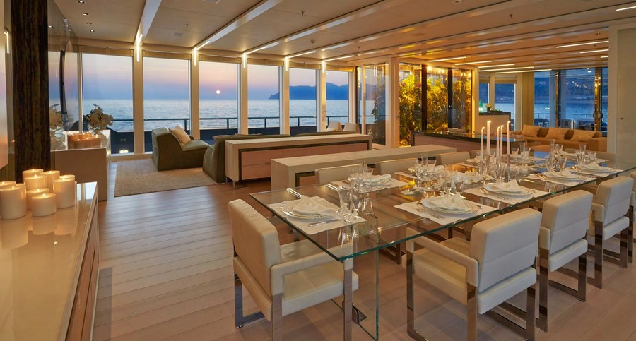 yacht interiors Have a look at 50 of the greatest yacht interiors – Part 3 Stella Maris 72m ultra modern yacht for sale6