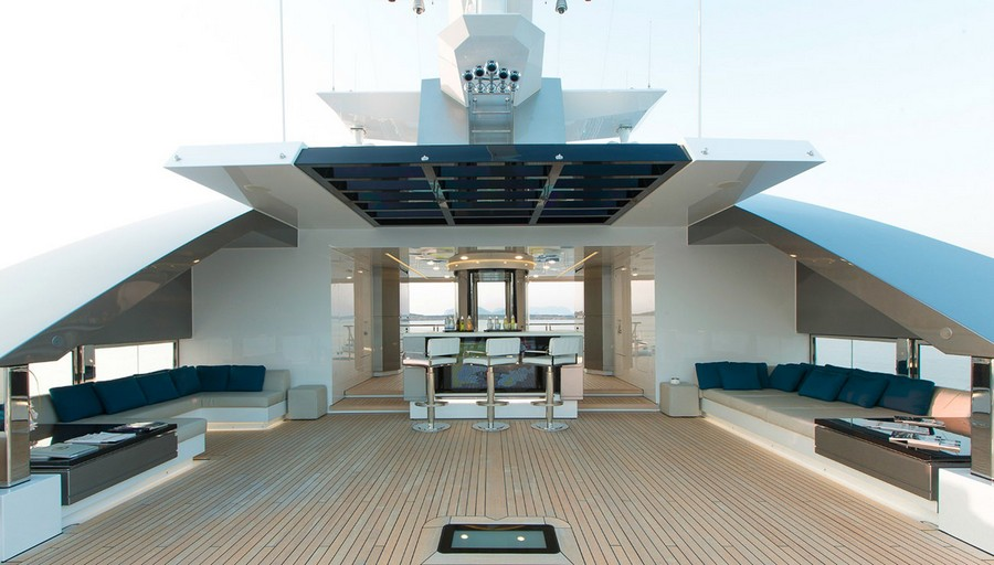 yacht interiors Have a look at 50 of the greatest yacht interiors – Part 3 Stella Maris for sale with Burgess passion4luxury 12