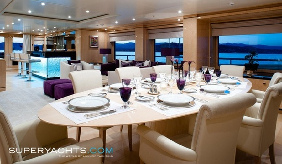 yacht interiors Have a look at 50 of the greatest yacht interiors – Part 2 StepOne3