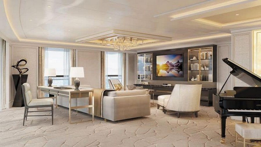 most Luxurious Suite See the most Luxurious Suite unveiled by Regent Seven Seas Cruises Suite2