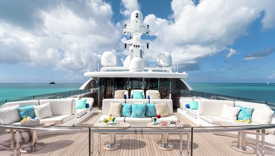 yacht interiors Have a look at 50 of the greatest yacht interiors – Part 3 Titania