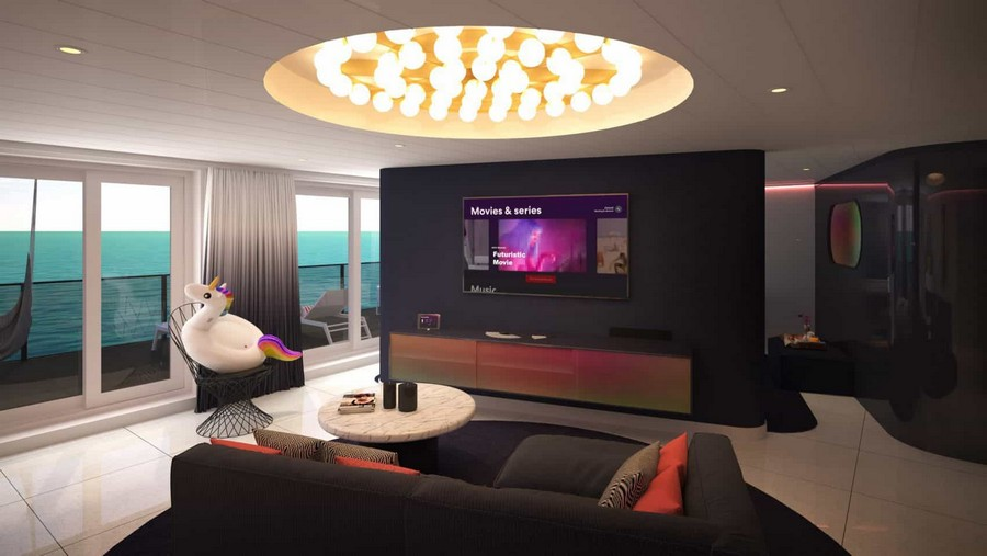 The Scarlet Lady: have a look at the suites designed by Tom Dixon Tom Dixon The Scarlet Lady: have a look at the suites designed by Tom Dixon Tom Dixon Virgin cruise suites 1