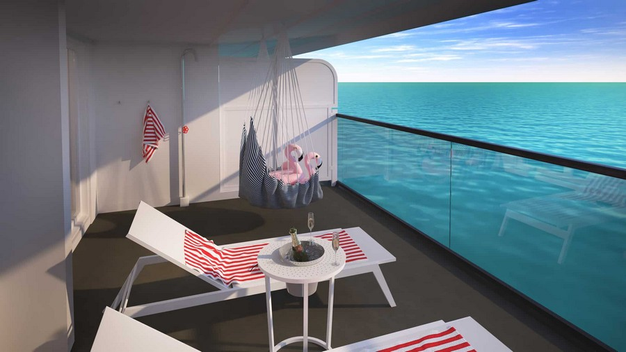 The Scarlet Lady: have a look at the suites designed by Tom Dixon Tom Dixon The Scarlet Lady: have a look at the suites designed by Tom Dixon Tom Dixon Virgin cruise suites 4