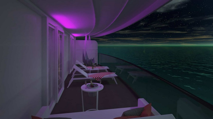 The Scarlet Lady: have a look at the suites designed by Tom Dixon Tom Dixon The Scarlet Lady: have a look at the suites designed by Tom Dixon Tom Dixon Virgin cruise suites 8