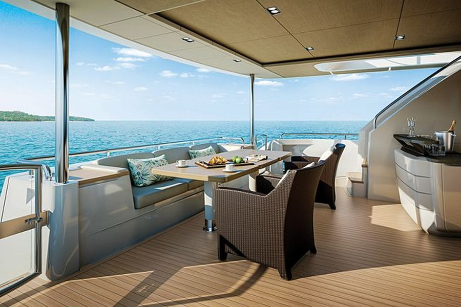 yacht interiors Have a look at 50 of the greatest yacht interiors – Part 2 princess 30m deck