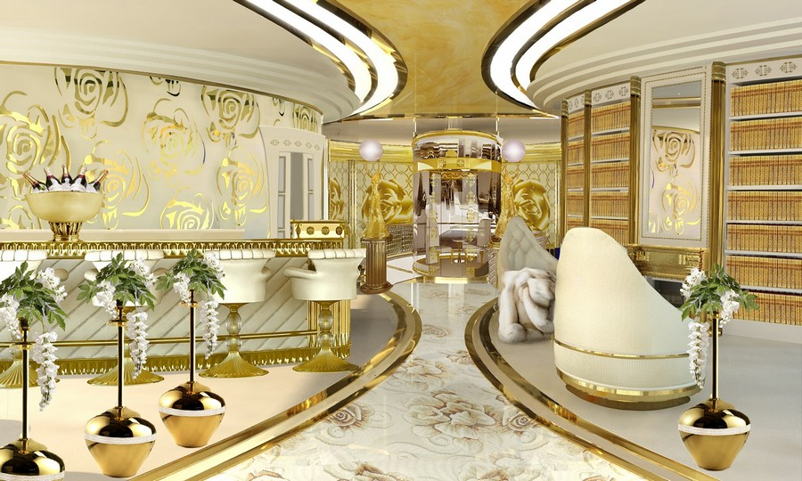 See some inspiring interiors of Mix Metals in luxury yacht interiors luxury yacht interiors See some inspiring interiors of Mix Metals in luxury yacht interiors z54228d18823ed