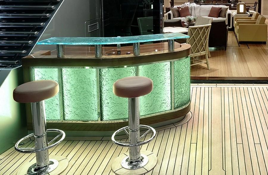 donald starkey Top yacht designers: 5 luxury yacht interiors by Donald Starkey Allogante Bar Alloy Yachts