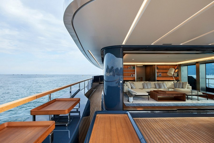 sofas Have a look at 5 of the best sofas used in Luxury Yachts Antonio Citterio SanLorenzo