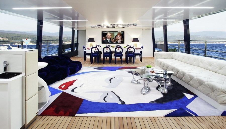 sofas Have a look at 5 of the best sofas used in Luxury Yachts Blade2