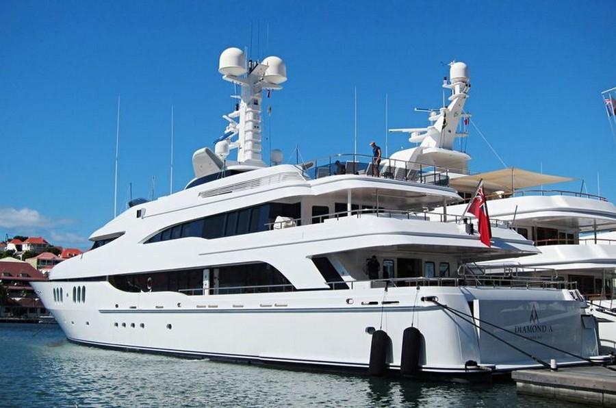 donald starkey Top yacht designers: 5 luxury yacht interiors by Donald Starkey Diamond