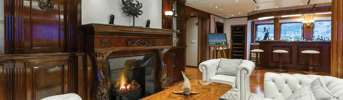 yacht fireplaces Have a peek at 5 of the hottest yacht fireplaces ever FEATURE 10