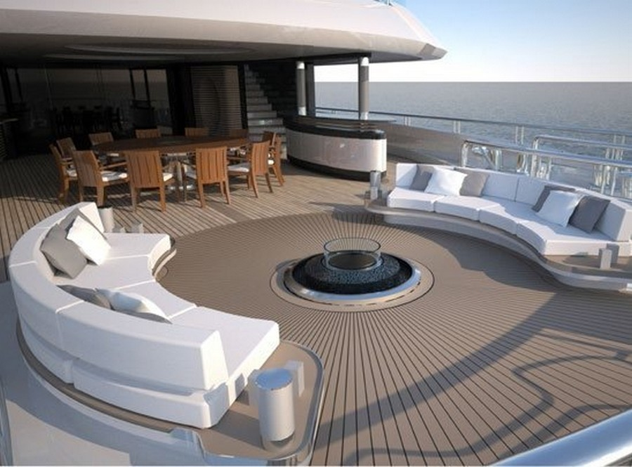 yacht fireplaces Have a peek at 5 of the hottest yacht fireplaces ever Kismet