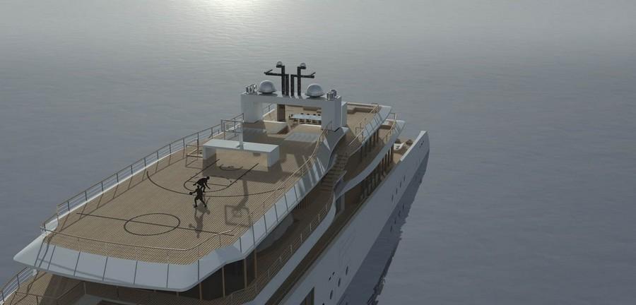 lavilla yacht See the new Lavilla yacht by French designer Jérémy Kitzinger Lavilla Superyacht Concept 7