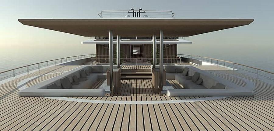 lavilla yacht See the new Lavilla yacht by French designer Jérémy Kitzinger Lavilla Superyacht Concept 8