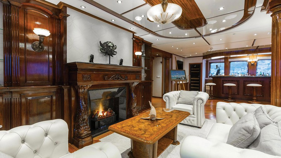 yacht fireplaces Have a peek at 5 of the hottest yacht fireplaces ever Legend