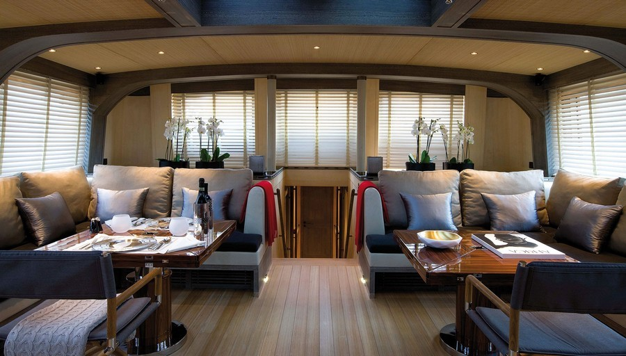 sofas Have a look at 5 of the best sofas used in Luxury Yachts Roxane Remitessier