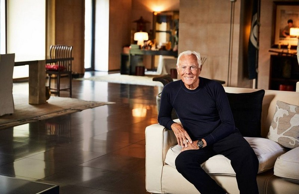 italian interior designers Let's step a little inside the world of Italian Interior Designers The dream of living according to Giorgio Armani 800x520