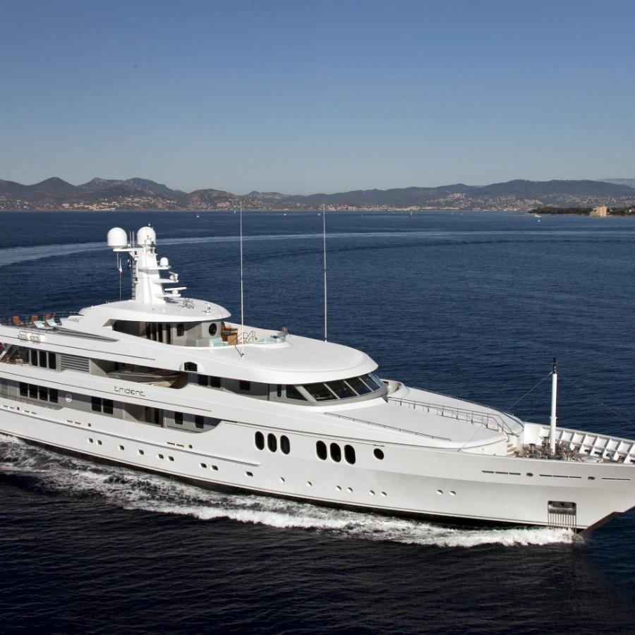 donald starkey Top yacht designers: 5 luxury yacht interiors by Donald Starkey Trident