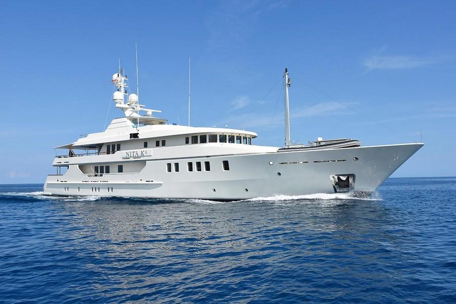 alberto pinto Top Yacht Designers: 5 Luxury Yacht Interiors by Alberto Pinto Nita K II 1