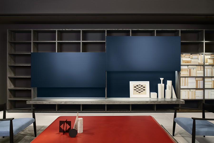 porro These products by Porro and Piero Lissoni can decorate a luxury yacht SYSTEM 01