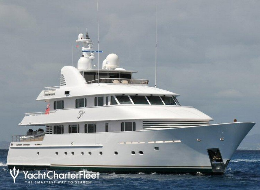 yachts to charter These are the top 5 yachts to charter during Spring Solaia 1
