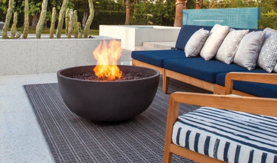 firepits Enhance the decks of your luxury yacht with these top firepits brownjordanfires1