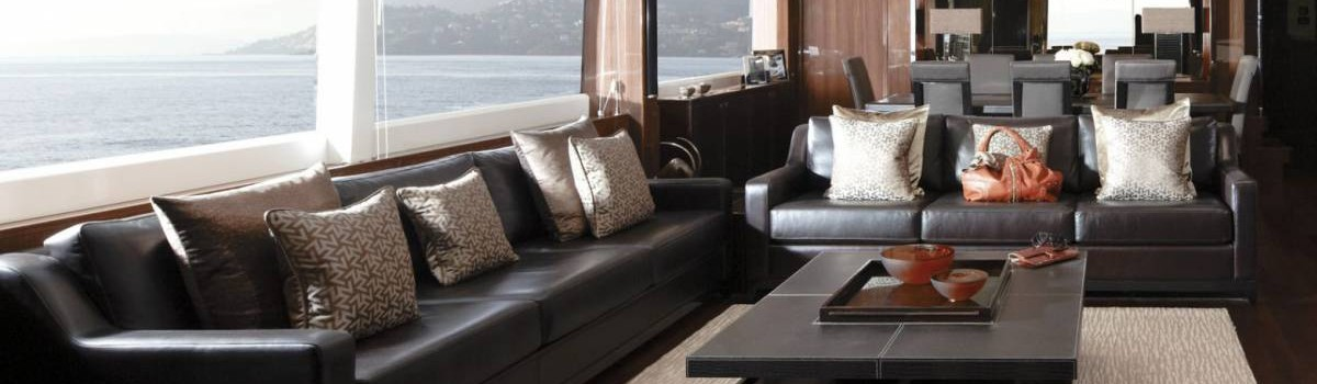Have you seen the Princess 72 yacht interiors by Yvette Taylor London