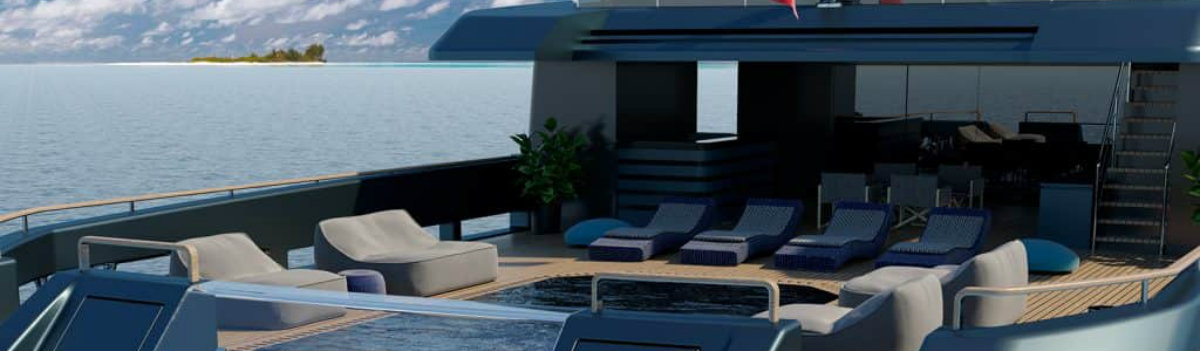 Mondomarine's Newest Super Yacht Concept was made alongside Luca Dini