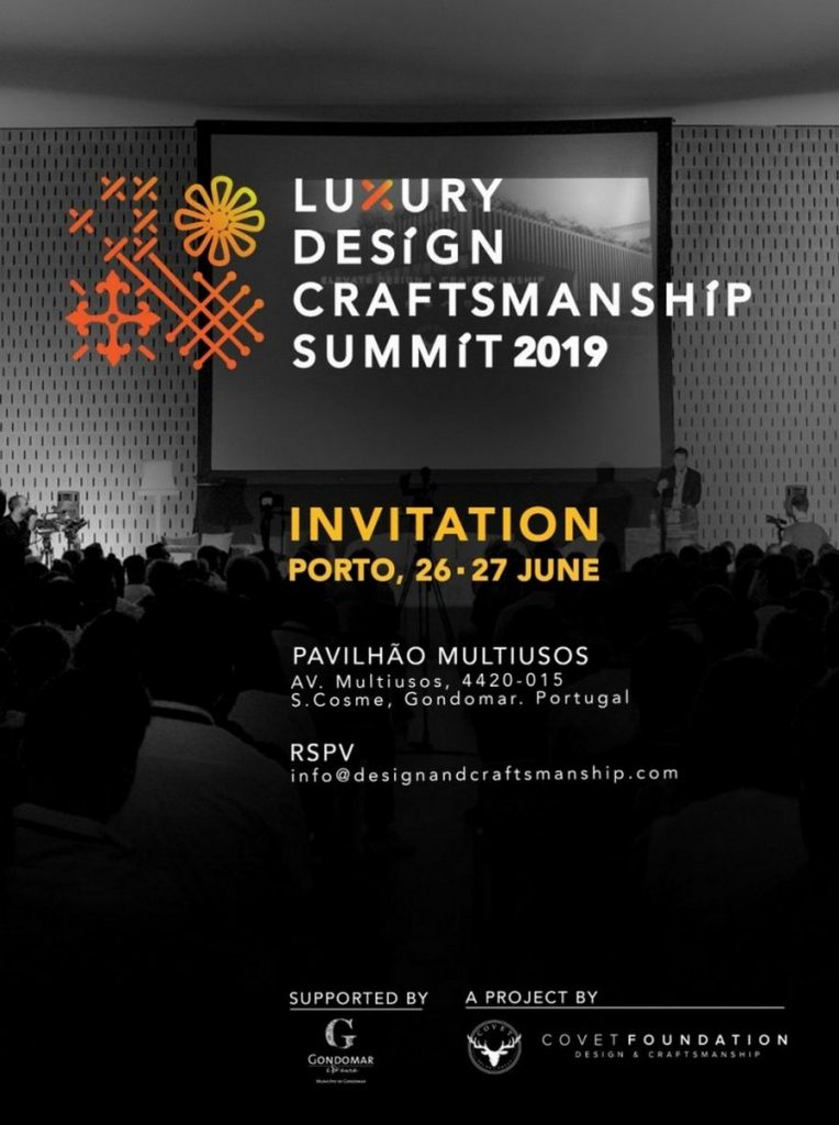 Luxury Design & Craftsmanship Summit 2019: more about this event craftsmanship summit Luxury Design & Craftsmanship Summit 2019: more about this event LDC2 768x1029