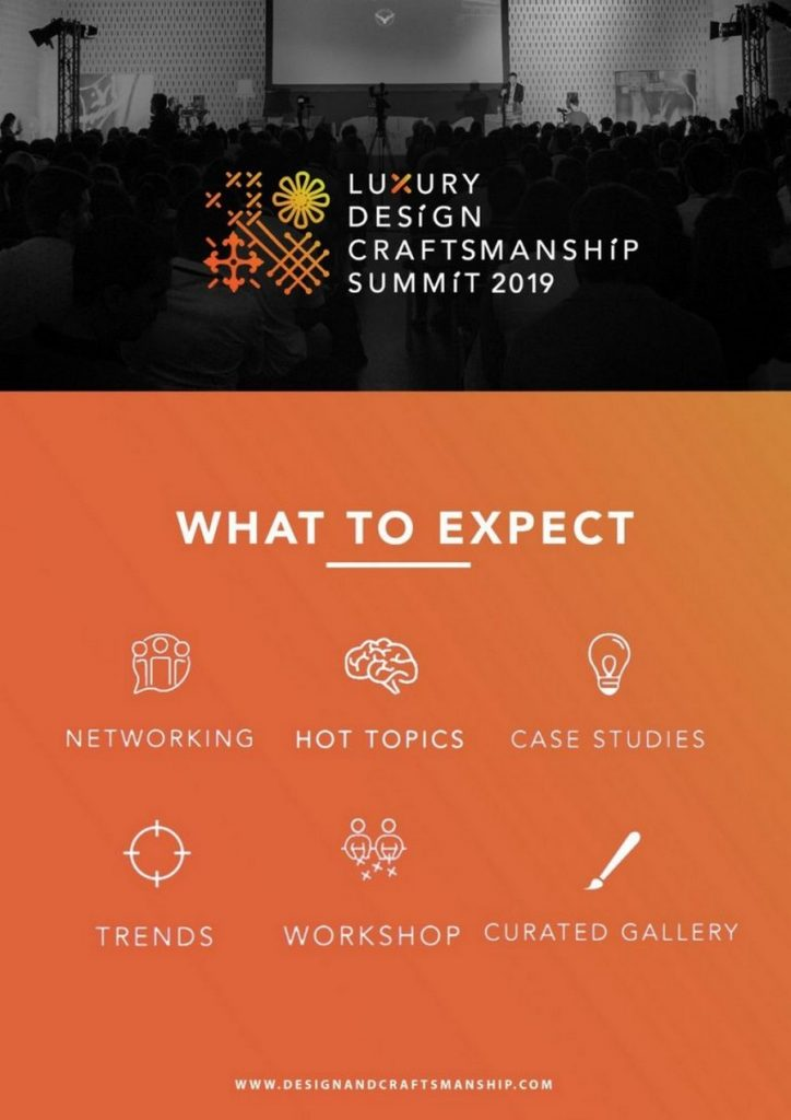 craftsmanship summit Luxury Design & Craftsmanship Summit 2019: more about this event LDC3 768x1086