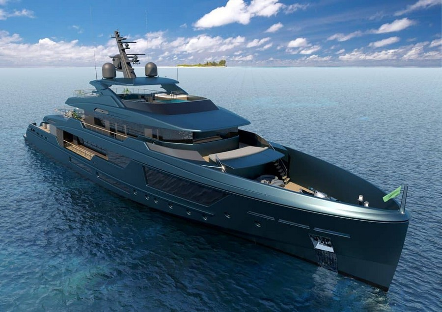 Mondomarine's Newest Super Yacht Concept was made alongside Luca Dini mondomarine Mondomarine's Newest Super Yacht Concept was made alongside Luca Dini Mondomarine Discovery 57 Yacht 1