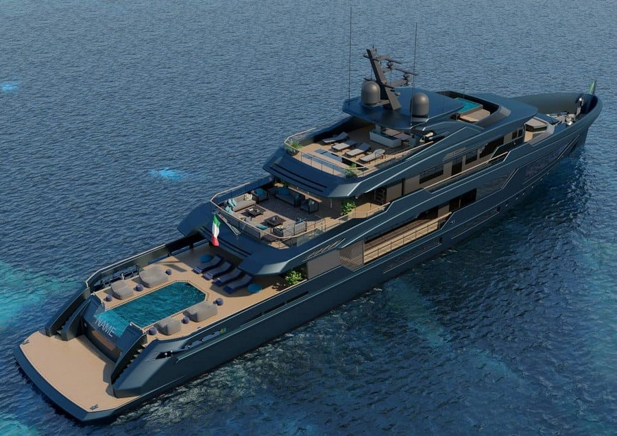 mondomarine Mondomarine's Newest Super Yacht Concept was made alongside Luca Dini Mondomarine Discovery 57 Yacht 4