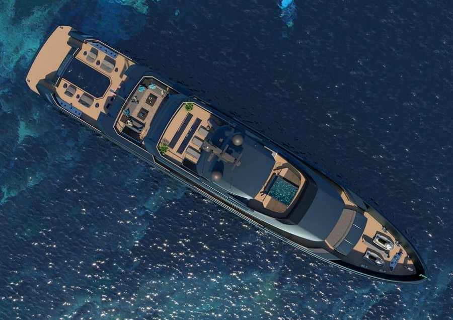 mondomarine Mondomarine's Newest Super Yacht Concept was made alongside Luca Dini Mondomarine Discovery 57 Yacht 5