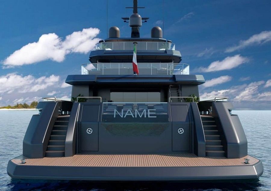 mondomarine Mondomarine's Newest Super Yacht Concept was made alongside Luca Dini Mondomarine Discovery 57 Yacht 6