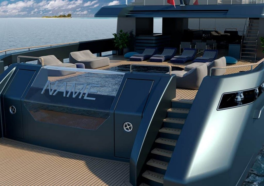 mondomarine Mondomarine's Newest Super Yacht Concept was made alongside Luca Dini Mondomarine Discovery 57 Yacht 7