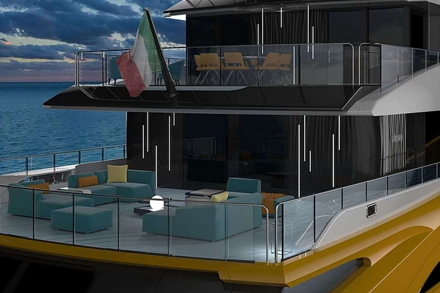nicolò piredda Nicolò Piredda has developed a brand new superyacht: NEXT! NEXT6
