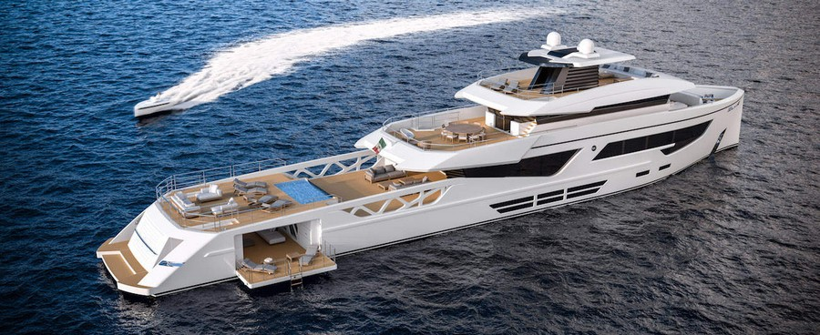 Check out an amazing luxury supply vessel concept by Giovanni Griggio giovanni griggio Check out an amazing luxury supply vessel concept by Giovanni Griggio Rosetti Superyacht 1