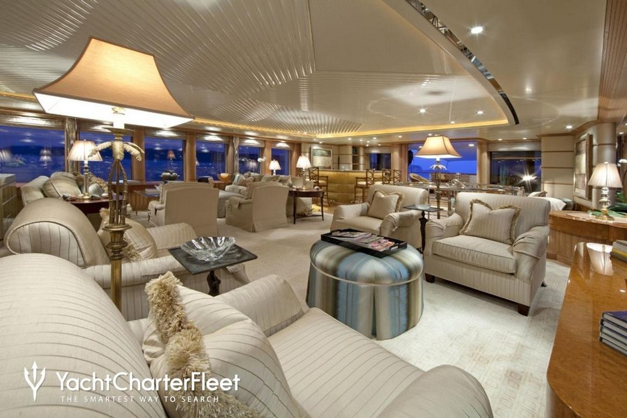 terence disdale Top Yacht Designers: 5 Luxury Yacht Interiors by Terence Disdale Sea Huntress Feadship