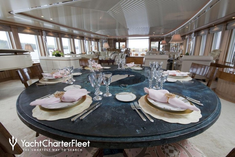terence disdale Top Yacht Designers: 5 Luxury Yacht Interiors by Terence Disdale Sea Huntress Feadship3