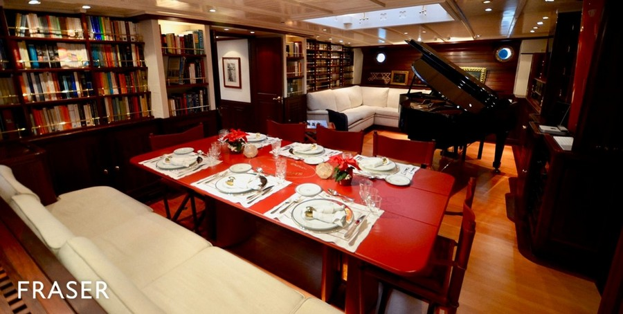 terence disdale Top Yacht Designers: 5 Luxury Yacht Interiors by Terence Disdale Shenandoah Townsend Downey3