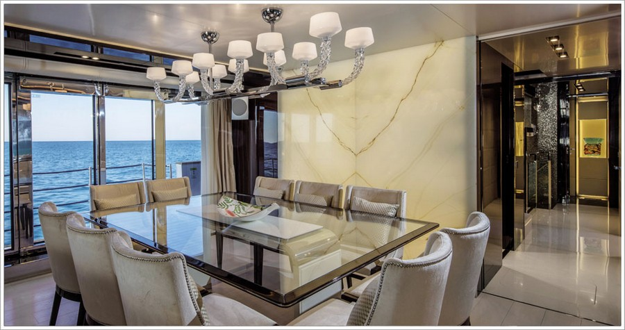 porta galleria A look at some amazing yacht interiors done by Porta Galleria Yacht2