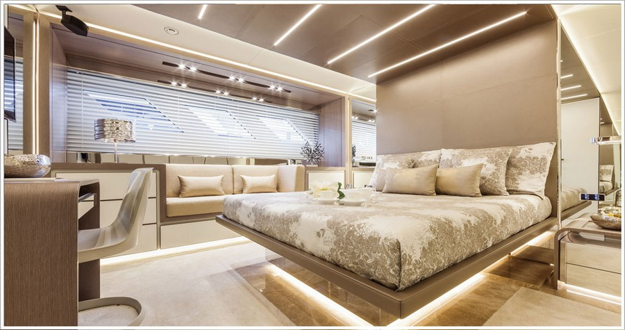 porta galleria A look at some amazing yacht interiors done by Porta Galleria Yacht5
